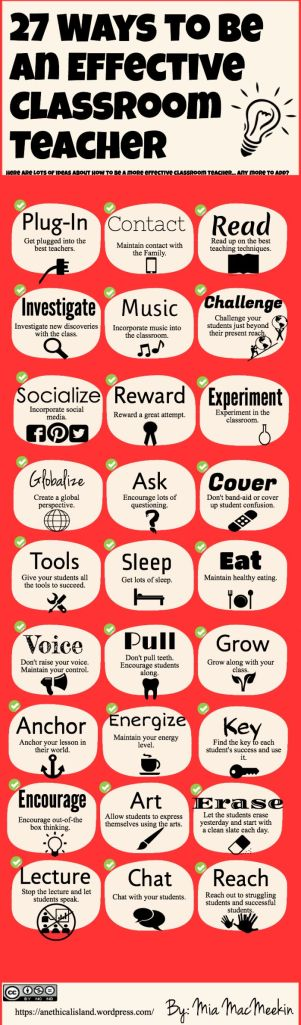 27 ways to be an amazing classroom teacher